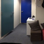 photo showing the reception area at aspire's new studio