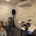 Photo showing new drum teaching room